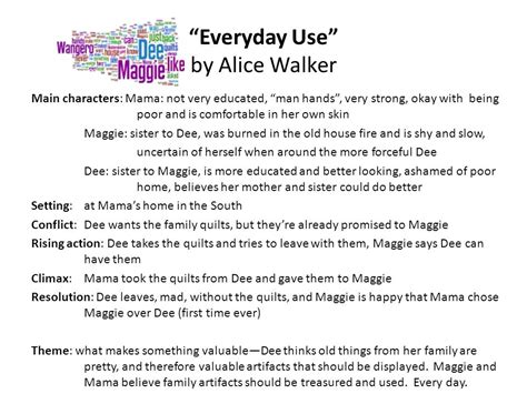 Walker Everyday Use Essay by Essay On Story Everyday Use