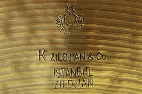 Cymbal Istanbul zildjian k istanbul medium ride 20 quot image 551174