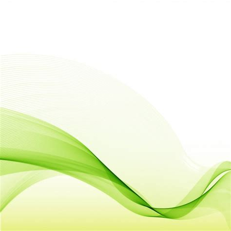 green wallpaper vector free download modern green wave background vector free download