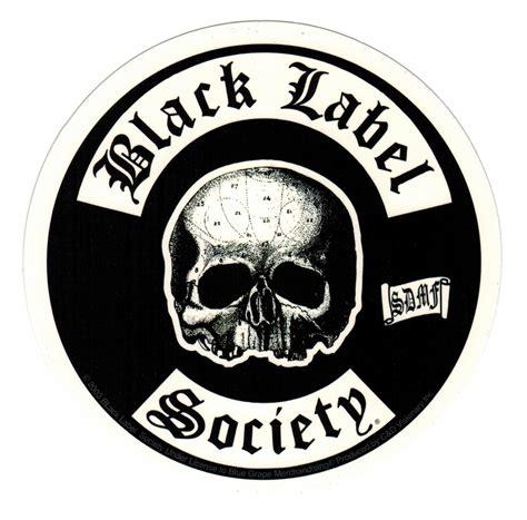 Uga Home Decor by Black Label Society Skull Logo Sticker