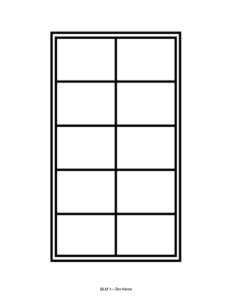 ten frame template blank ten frame clipart clipart suggest