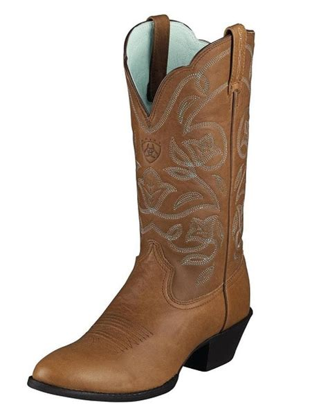 cheap womans cowboy boots ariat western heritage r toe boots for