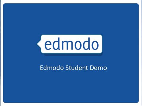 edmodo demo edmodo training