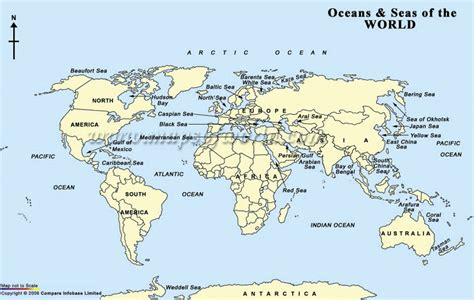 world map image oceans oceans normansjsteach23