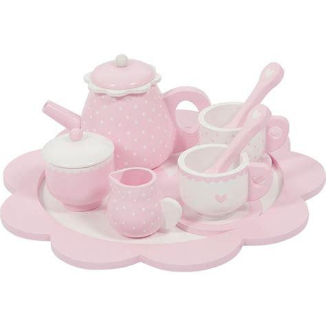 speelgoed little dutch little dutch theeservies hout roze