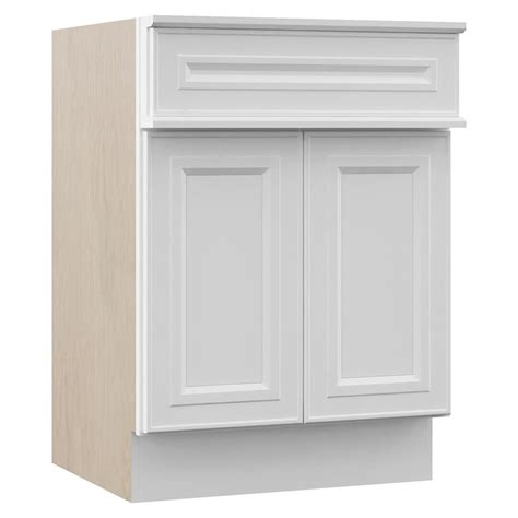 rsi bathroom cabinets shop villa bath by rsi catalina white traditional bathroom vanity common 24 in x 23