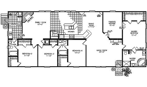 prefab floor plans fuller modular homes classic ranch modular 2380k modular