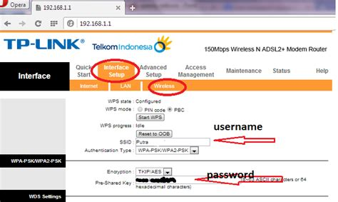 Wifi Telkom Speedy cara mengganti password wifi speedy telkom tp link