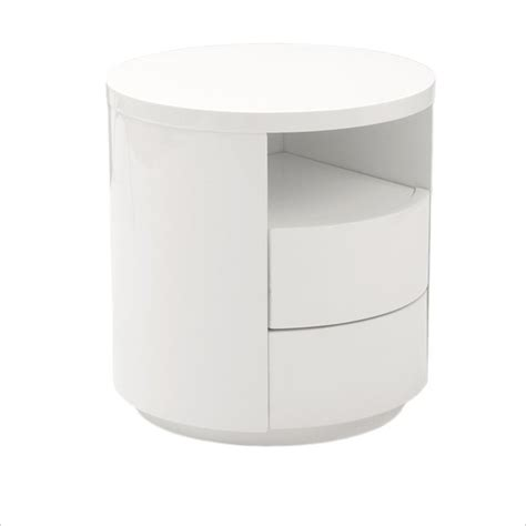 white lacquer side table end table with drawers modern white lacquer side table