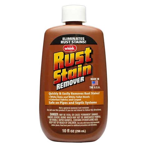 boat rust cleaner whink rust stain remover 10 oz west marine