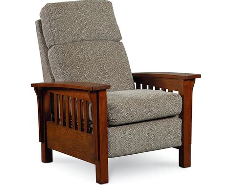 lane mission style recliner mission high leg recliner recliners lane furniture