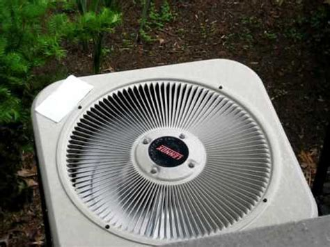 fan motor for ac unit lennox fan motor on outside ac unit reverses itself
