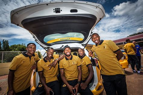 kaizer chiefs get 20 cars from toyota sa leisure wheels