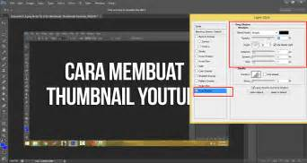 cara membuat brosur yang simple cara membuat thumbnail youtube simple di photoshop jalur