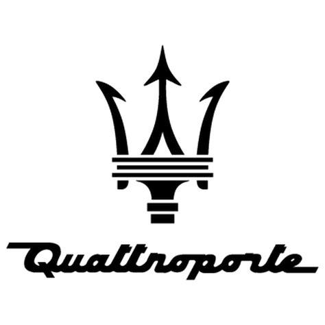 maserati logo png sticker maserati quattroporte logo