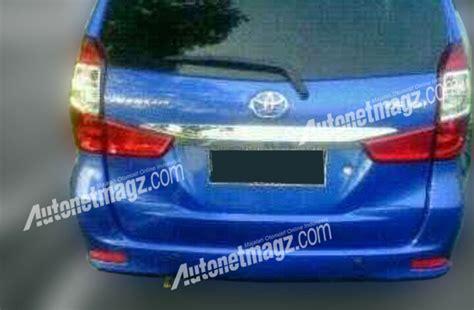 Lu Belakang Avanza Baru toyota new avanza facelift 2015 baru belakang