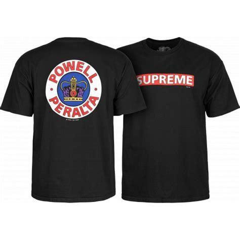 Tshirt Skate Tshirt Supreme Skate powell peralta supreme t shirt black skate one