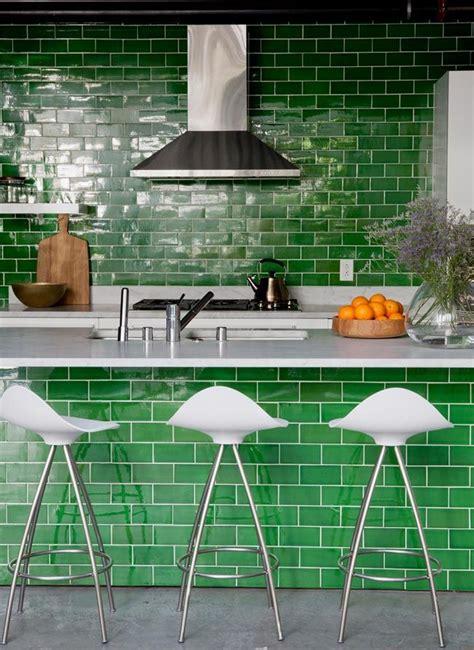 azulejos esmaltados 8 cocinas con azulejos verdes esmaltados 183 8 green tiled