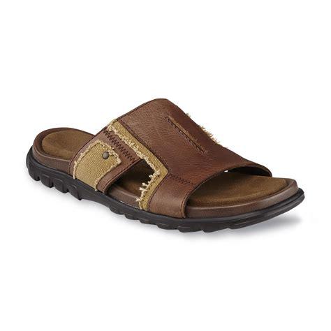 dr scholls mens sandals dr scholl s s miami brown slide sandal shop your