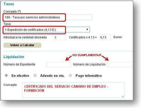 Modelo Curriculum Servicio Canario De Empleo Servicio Canario De Empleo