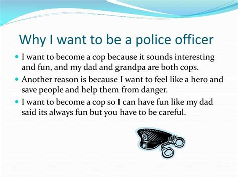 ppt the career of a officer powerpoint