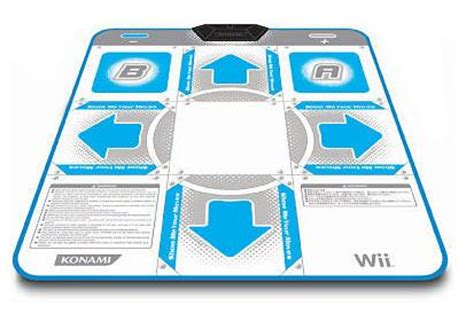 Wii Mat List by Wii Gamecube Konami Mat