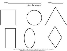 printable shapes worksheets carla maria smith
