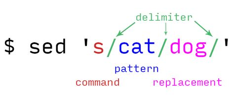 sed pattern with quotes getting started with terminal what is sed and how does it