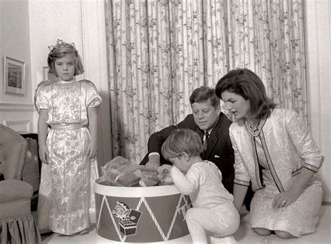 john f kennedy children the history place john f kennedy photo history the