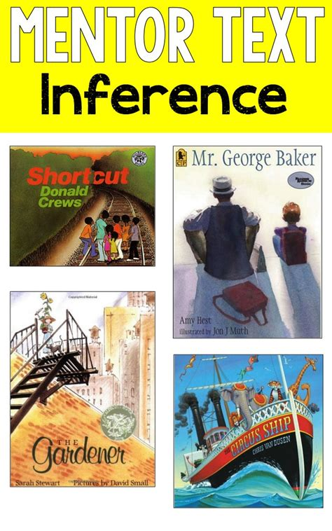 picture books for inferencing reading mentor texts ashleigh s education journey