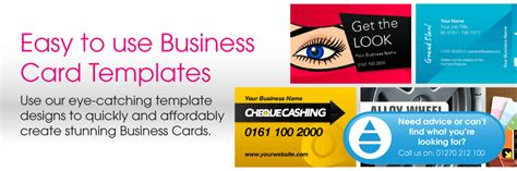 direct to card templates business card templates print buying direct