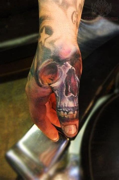 skull tattoo on finger 21 sugar skull tattoos design on finger