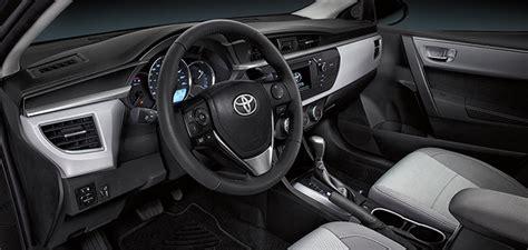 2015 Toyota Corolla Interior 2015 Toyota Corolla Le Eco Review