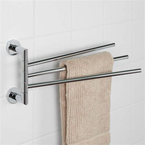 triple swing arm towel bar 1000 images about tiny house wet bath on pinterest