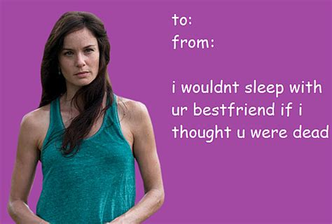 Walking Dead Valentine Meme - valentine s day cards for fans of the walking dead are