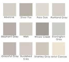Grays benjamin behr gray wall color color palette lavender grays
