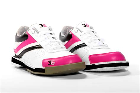 3g classic pro white pink black s bowling shoes