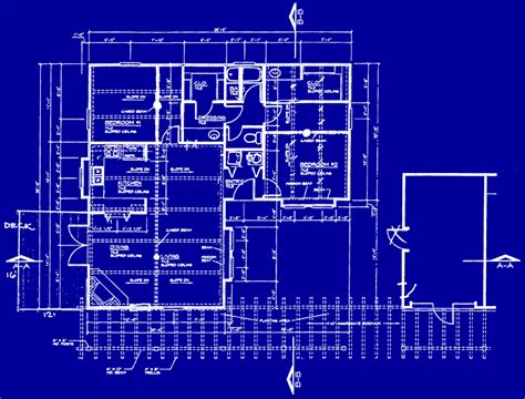 blueprint of a house home advancedblueprintservice com