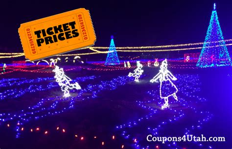huge light display in kearns how to save on tickets