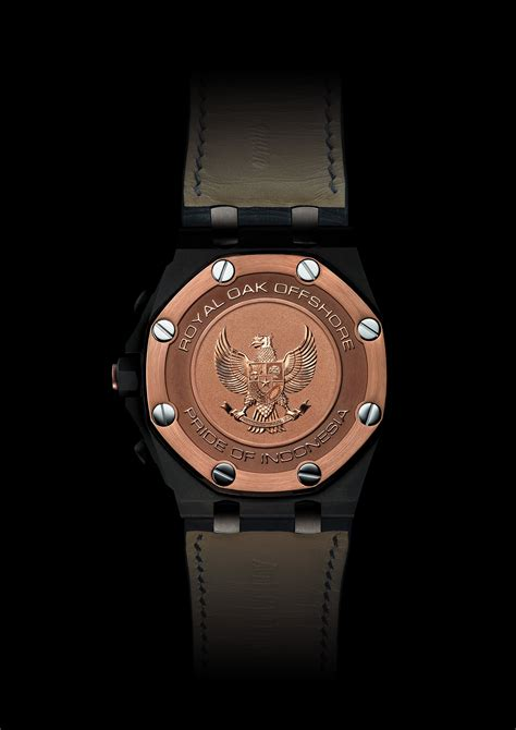 Audemars Piguet Royal Oak Pride Of Indonesia audemars piguet creates special royal oak offshore chronograph for indonesia swiss ap watches