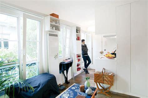 215 square feet cozy 215 square foot studio flat in paris idesignarch