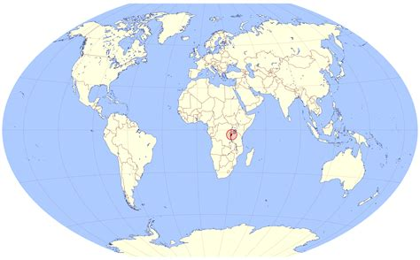 where is burundi on a world map location map of burundi on a map of the world burundi