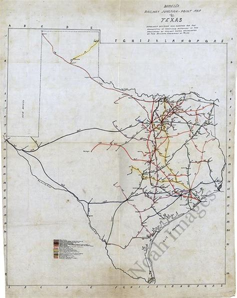 junction texas map railway junction point map of texas c1891 repro 24x30 ebay