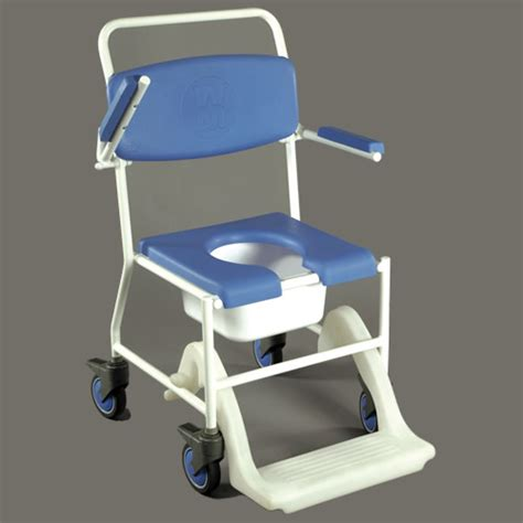 Elderly Shower Chair by Mobile Shower Commode Chair Bathing Aids Shower Commode Chairs Complete Care Shop