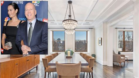 bruce willis new york city apartment for sale bruce willis home bruce willis lists 17 million duplex on central park