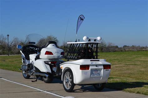 car dogs trailer pet hauler motorcycle trailers pull motorcycle trailers