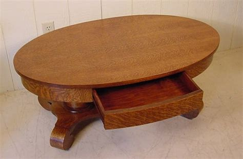 Oak Oval Coffee Table Oval Oak Coffee Table
