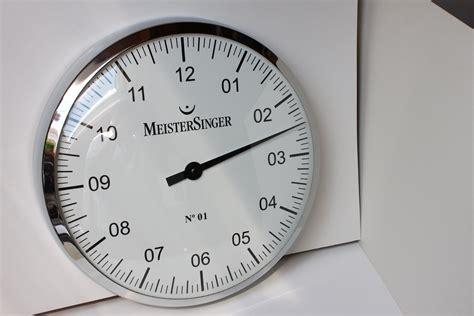 meistersinger wandklok tk meistersinger no 1 wandklok verkocht horlogemarkt