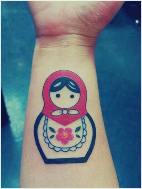 small russian doll tattoo simple russian doll i would to get this