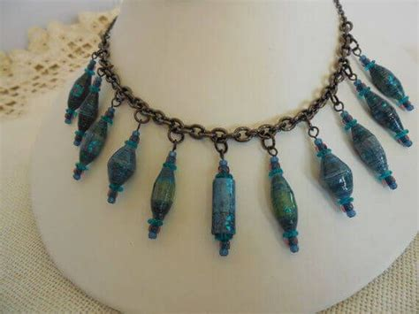 Paper Bead Jewelry Ideas - 17 best ideas about paper bead jewelry on